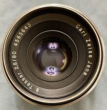 Carl Zeiss Jena Tessar 80mm F2.8 Pentacon Six Medium Format Lens