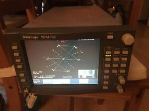 Tektronix WFM-700 HD Waveform Monitor *WORKING*