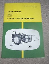 John Deere 25 3PT Hitch Sprayer Operators Manual   Used