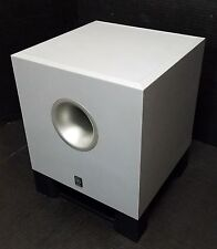 Yamaha YST-SW011 Active / Powered Subwoofer - Silver/Grey - Tested A+
