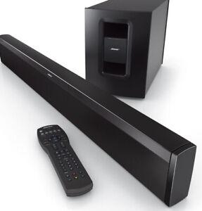 Bose CineMate 1 SR Sound Bar / Wireless Acoustimass Module