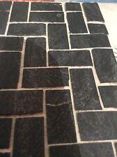 100x  Real Slate Dolls House / Miniature Cobble Stones/ Slips