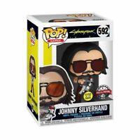 Cyberpunk 2077 - Johnny Silverhand Glow US Exclusive Pop! Vinyl [RS]-FUN51653...