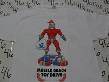 XL- NWOT Muscle Beach Toy Drive Body Building T- Shirt