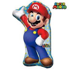 Super Mario Party Supplies Super Shape Foil Balloon Helium Anagram Licensed