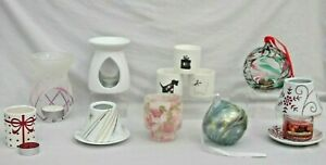 YANKEE CANDLE & OTHERS CANDLE TEALIGHTS WAX MELT HOLDERS BURNERS CHOICE
