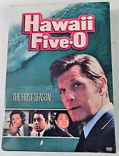 HAWAII FIVE-O FIRST SEASON 1 JACK LORD 1960s TV CRIME DRAMA INCLUDES PILOT, USED