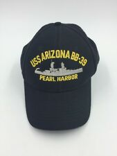 USS Arizona BB 39 Cap Hat Pearl Harbor Hawaii Battleship Adjustable