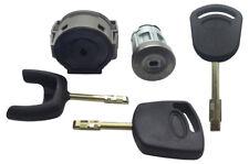 Blocchetto Accensione Riparazione Blocco & 3 Tasti Compatible con Ford