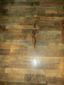 Vintage PSE Archery Black Hawk Blackhawk Wooden Recurve Bow Archery Hunting