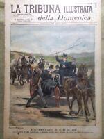 La Tribuna Illustrata 25 Aprile 1897 Attentato al Re Bausan Guerra Greco-Turca