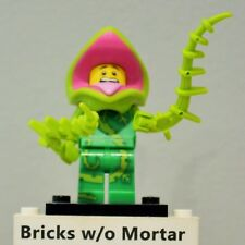 New Genuine LEGO Plant Monster Minifig with vines Series 14 71010