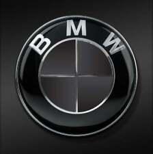 BMW Emblem Blackout OVERLAYS Badge BLACK Vinyl Decal Sticker Insert Inlay