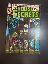 THE HOUSE OF SECRETS #81 [1969 5.5-7 1ST APP ABEL! ORIGIN HOUSE OF SECRETS!