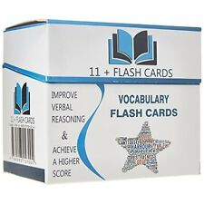 Eleven Plus Vocabulary Flash Cards Good Book ISBN 9780993157004