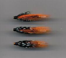 Tube Flies: Thunder & Lightning 38 mm long all brass tube x 3 (Code 556)