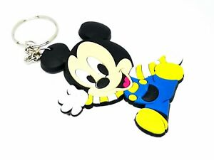 Mickey Mouse, Tom and Jerry, Despicable Me Minions PVC Keyring Key chain UK