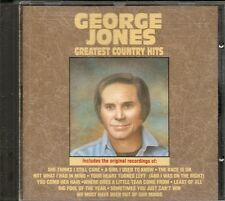 CD BEST OF 11 TITRES--GEORGE JONES--GREATEST COUNTRY HITS