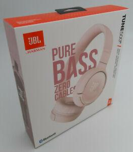 JBL Tune 500 BT Wireless Bluetooth Kopfhörer 16 Stunden Pure Bass Sound Rosa NEU