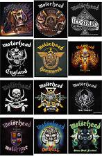 Motorhead Patch England Warpig band logo Lemmy Overkill official New woven