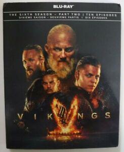 Vikings The Sixth Season - Part Two - Ten Episodes (Blu-ray +Slip, New &Sealed)