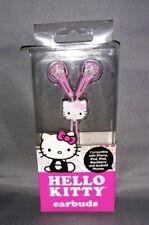 Sanrio Hello Kitty White & Pink Earbuds.