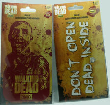 The Walking Dead Car Decal (Set of 2) [Zombie And Warning Sign]