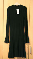 Next Black Rib Jumper Dress Size 14 BNWT Tag £30