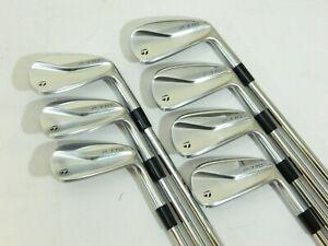 2020 Taylormade P770 iron set 4-PW KBS Tour 120 Stiff irons P-770 - Used RH