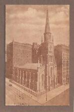 VINTAGE POSTCARD 1918 MARBLE COLLEGIATE CHURCH MANHATTAN NEW YORK CITY
