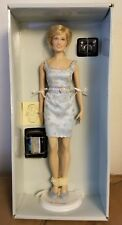 "Franklin Mint Princess Diana Vinyl Doll ""Princess Of Grandeur"" New with COA."