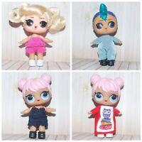 LOL Surprise Doll Big Sister Clothes - 4 Jumpsuit, Overalls, dress LOL party