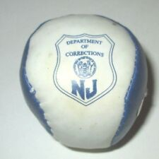 NEW JERSEY DEPARTMENT OF CORRECTIONS PRISONS NOVELTY HACKY SACK BEAN BAG BALL
