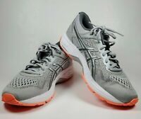 ASICS GT-1000 6 Womens Size US 8.5D Running Shoes Mid Gray Carbon Flash Coral