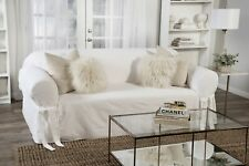 Cotton twill Sofa cover one piece