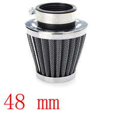 48MM For Motorcycle Power ATV Scooter Cone Race Air Filter Replacement Sales