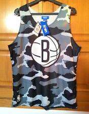 BROOKLYN NETS ADIDAS basket Training Shirt (Camouflage). Large, NEW WITH TAGS!