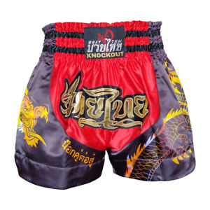 Knockout Muay Thai Boxing Kick Boxing Mma Shorts S M L Xl Comfort Stylish Flair