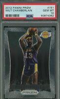 2012 Panini Prizm #151 Wilt Chamberlain Lakers HOF PSA 10 GEM MINT Card berlin