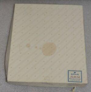 New in Box Vintage Hallmark Guest Book Album