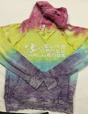 MV Sport  - Girls Hoodie - Multi-Color - Elite Dance Challenge - Large Youth
