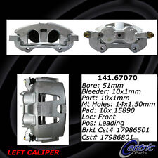 Centric Parts 141.67070 Front Left Rebuilt Brake Caliper With Hardware