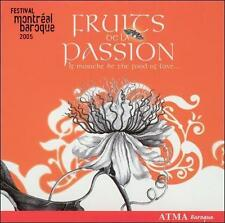 Fruits de la Passion: Festival Montréal Baroque 2005, New Music