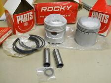 Honda NOS CB72, CL72, Piston Set (OS 3.00) # 13101-268-010, 13010-268-000   T1