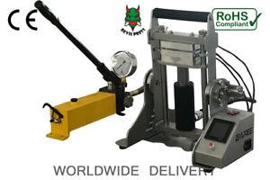 ROSIN PRESS  DP15 + TRIPLE 15TON MANUAL ROSIN PRESS MACHINE TRIPLE HEAT PLATE