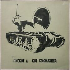 One Cut Commander, 1998 Original Limited Edition Album Cover & Vinyl, BANKSY