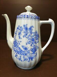 Kaffeekanne Tuppack Tiefenfurt China blau