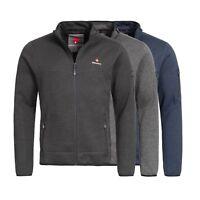 Höhenhorn Tacul Herren Jacke Fleece Strickjacke Strickfleece Outdoor Sweatshirt