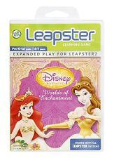 LeapFrog Leapster Disney Princess Worlds Of Enchantment, Factory Sealead!