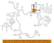 vw volkswagen oem 11-15 jetta-power steering pump reservoir tank 5c0422371